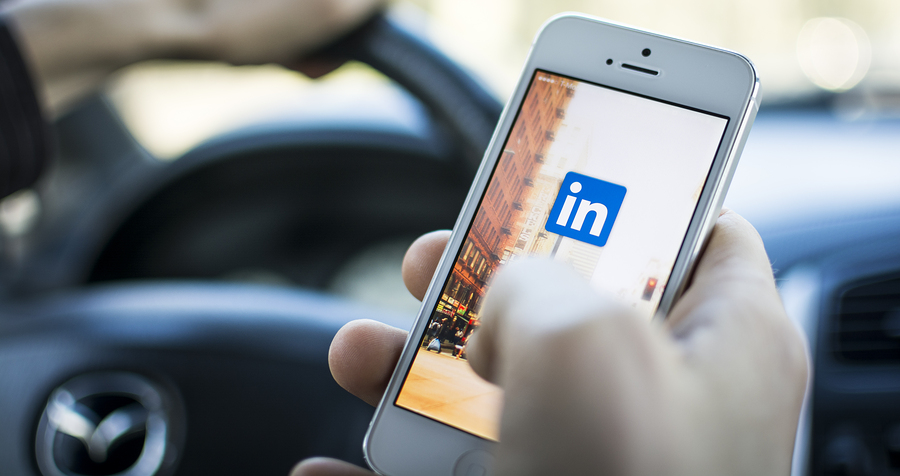 HILVERSUM, NETHERLANDS - JANUARY 06, 2014: Linkedin is a social networking website for people in professional occupations. As of June 2013 more than 259 million users in more than 200 countries.