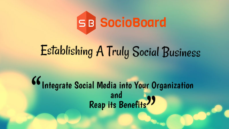 Establishing a Truly Social Business