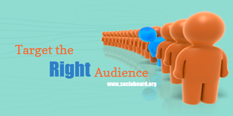Right audience