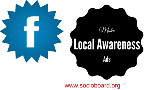 How can you reach your targeted users with the local awareness ads?