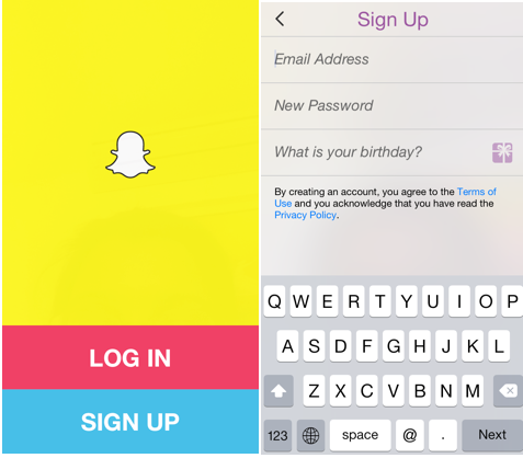 Snapchat Account Creation