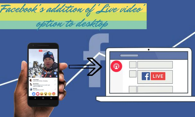 How Facebook's Addition of 'Live video' Option to Desktop will Benefit Visual Ads?