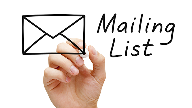 email list with affiliate marketing on social media